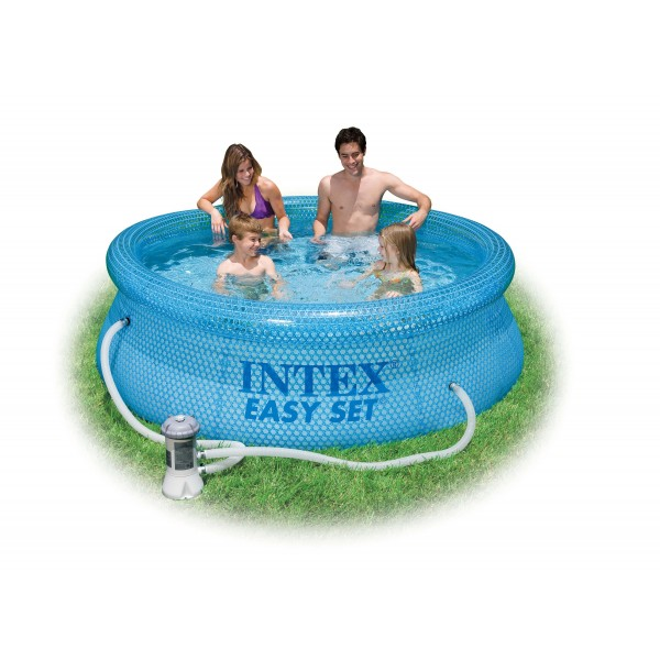 Piscina rotonda Easy Clearview cm 244x76