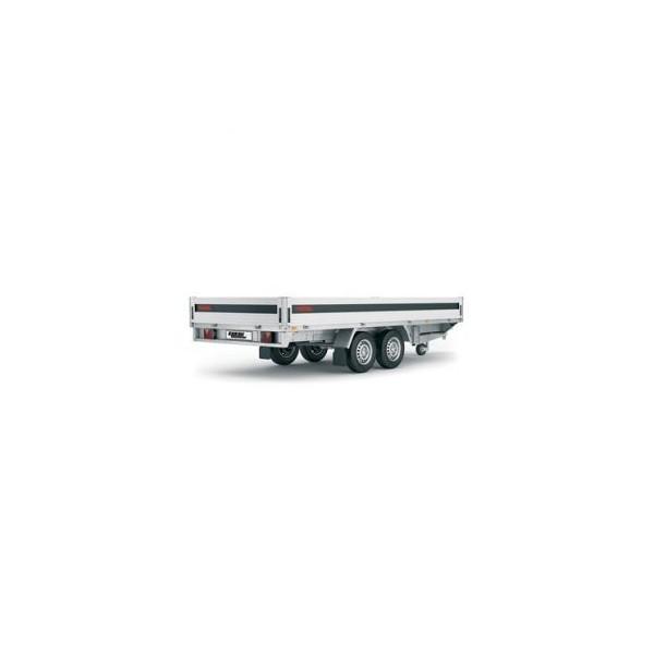 Rimorchio Serie 5000 mod. LBC 5420 TBA con freni
