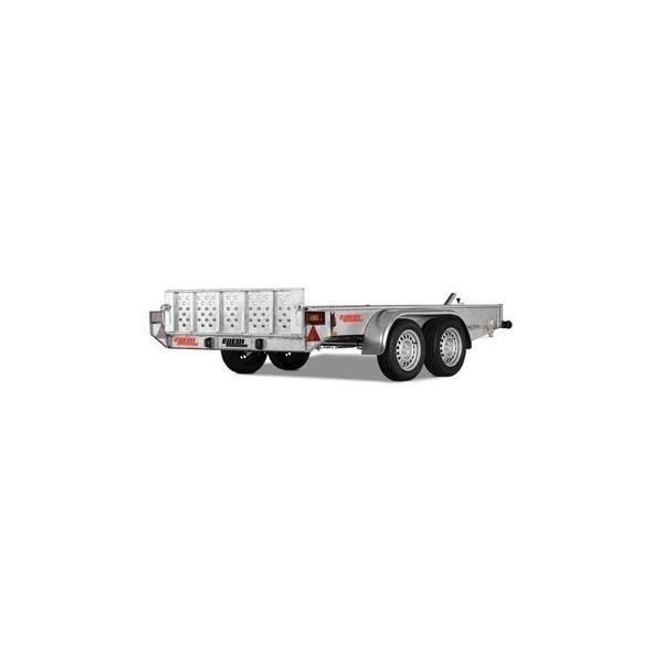 Rimorchio Serie Unitransporter mod. UT59 con freni